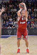DESCRIZIONE : Eurolega Euroleague 2015/16 Group D Dinamo Banco di Sardegna Sassari - Brose Basket Bamberg<br /> GIOCATORE : Nikos Zisis<br /> CATEGORIA : Tiro Tre Punti Three Point<br /> SQUADRA : Brose Basket Bamberg<br /> EVENTO : Eurolega Euroleague 2015/2016<br /> GARA : Dinamo Banco di Sardegna Sassari - Brose Basket Bamberg<br /> DATA : 13/11/2015<br /> SPORT : Pallacanestro <br /> AUTORE : Agenzia Ciamillo-Castoria/L.Canu