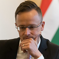 Foreign minister Peter Szijjarto interview 2019