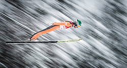 31.01.2016, Casino Arena, Seefeld, AUT, FIS Weltcup Nordische Kombination, Seefeld Triple, Skisprung, Wertungssprung, im Bild Philipp Orter (AUT) // Philipp Orter of Austria competes during his Competition Jump of Skijumping of the FIS Nordic Combined World Cup Seefeld Triple at the Casino Arena in Seefeld, Austria on 2016/01/31. EXPA Pictures © 2016, PhotoCredit: EXPA/ JFK