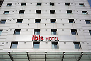 An exterior view of the Ibis Hotel at Wembley Stadium, on 6th November 2019, in Wembley, London, England.