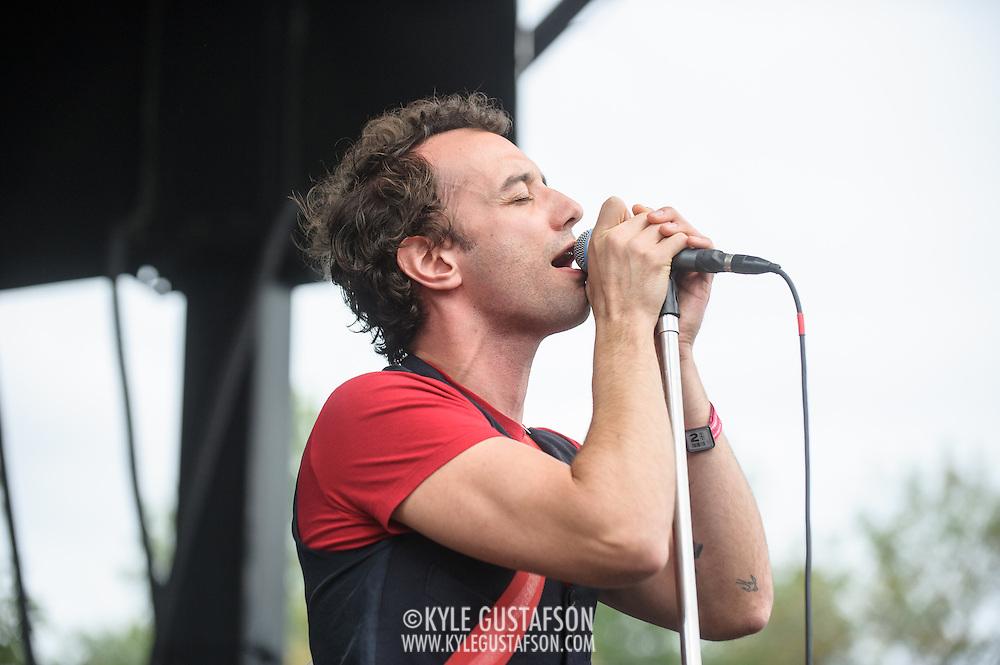 WASHINGTON, DC - September 26th, 2015 - Albert Hammond, Jr. performs at the 2015 Landmark Festival in Washington, D.C.  (Photo by Kyle Gustafson / For The Washington Post)