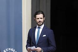 June 6, 2017 - Stockholm, Sweden - Prince Carl Philip..National Day celebrations, Open Palace, Royal Palace of Stockholm, 2017-06-06..(c) Patrik C Österberg / IBL....Öppet slott - nationaldagsfirande pÃ¥ Kungliga slottet, 2017-06-06 (Credit Image: © Patrik ÖSterberg/IBL via ZUMA Press)