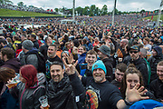 NO FEE PICTURES                                                                                                                                                8/6/19  Stiff Little Fingers playing support at Metallica's sold out concert, with 75,000 fans at Slane Castle in Co Meath. Picture: Arthur Carron
