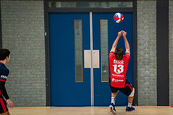 Mika Prins of ZVHin action during the league match ComputerPlan VCN - RECO ZVH on January 16, 2021 in Capelle aan de IJssel.