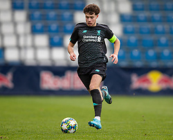 GRÖDIG, AUSTRIA - Tuesday, December 10, 2019: Liverpool's Neco Williams during the final UEFA Youth League Group E match between FC Salzburg and Liverpool FC at the Untersberg-Arena. (Pic by David Rawcliffe/Propaganda)
