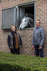 Hemeryck Rik, BEL, Caristell JP Z<br /> Haras de Lauzelle - Wavre 2021<br /> © Hippo Foto - Dirk Caremans<br /> 15/03/2021