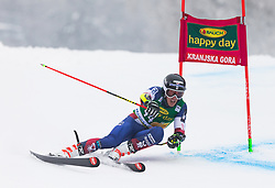 Hig Roberts of USA during 1st run of Men's Giant Slalom race of FIS Alpine Ski World Cup 57th Vitranc Cup 2018, on 3.3.2018 in Podkoren, Kranjska gora, Slovenia. Photo by Urban Meglič / Sportida