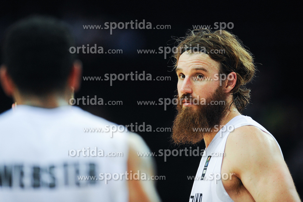 Jarrod Kenny of New Zealand during friendly match between National Teams of Slovenia and New Zealand before World Championship Spain 2014 on August 16, 2014 in Kaunas, Lithuania. Photo by Robertas Dackus / Sportida.com