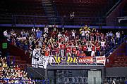 DESCRIZIONE : Milano Lega A 2014-2015 EA7 Emporio Armani Milano Giorgio Tesi Group Pistoia<br /> GIOCATORE : tifosi<br /> CATEGORIA : tifosi<br /> SQUADRA : Giorgio Tesi Group Pistoia<br /> EVENTO : Campionato Lega A 2014-2015<br /> GARA : EA7 Emporio Armani Milano Giorgio Tesi Group Pistoia<br /> DATA : 10/05/2015<br /> SPORT : Pallacanestro<br /> AUTORE : Agenzia Ciamillo-Castoria/Max.Ceretti<br /> GALLERIA : Lega Basket A 2014-2015<br /> FOTONOTIZIA : Milano Lega A 2014-2015 EA7 Emporio Armani Milano Giorgio Tesi Group Pistoia<br /> PREDEFINITA :
