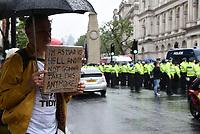 anti vaccine and anti lockdown protest london  photo by Krisztian  Elek