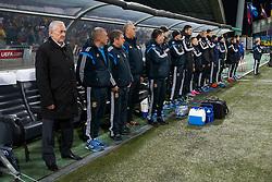 Team Ukraine during the UEFA EURO 2016 Play-off for Final Tournament, Second leg between Slovenia and Ukraine, on November 17, 2015 in Stadium Ljudski vrt, Maribor, Slovenia. Photo by Urban Urbanc / Sportida