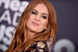 Isla Fisher attends the 2018 iHeartRadio Music Awards at the Forum on March 11, 2018 in Inglewood, California. Photo by Lionel Hahn/AbacaPress.com