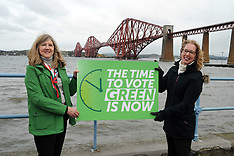Greens - time to vote is now, South Queensferry, 4 March 2021