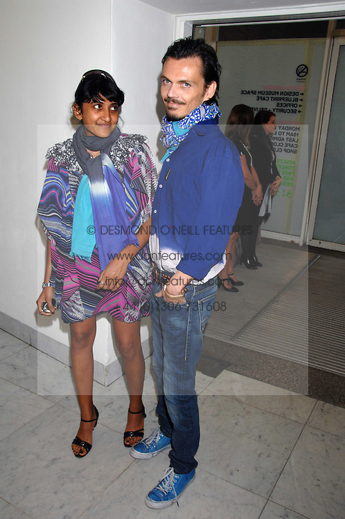 DEVIKA DASS and MATTHEW WILLIAMSON at a reception hosted by Vogue magazine to launch photographer Tim Walker's book 'Pictures' sponsored by Nude, held at The Design Museum, Shad Thames, London SE1 on 8th May 2008.<br /><br />NON EXCLUSIVE - WORLD RIGHTS