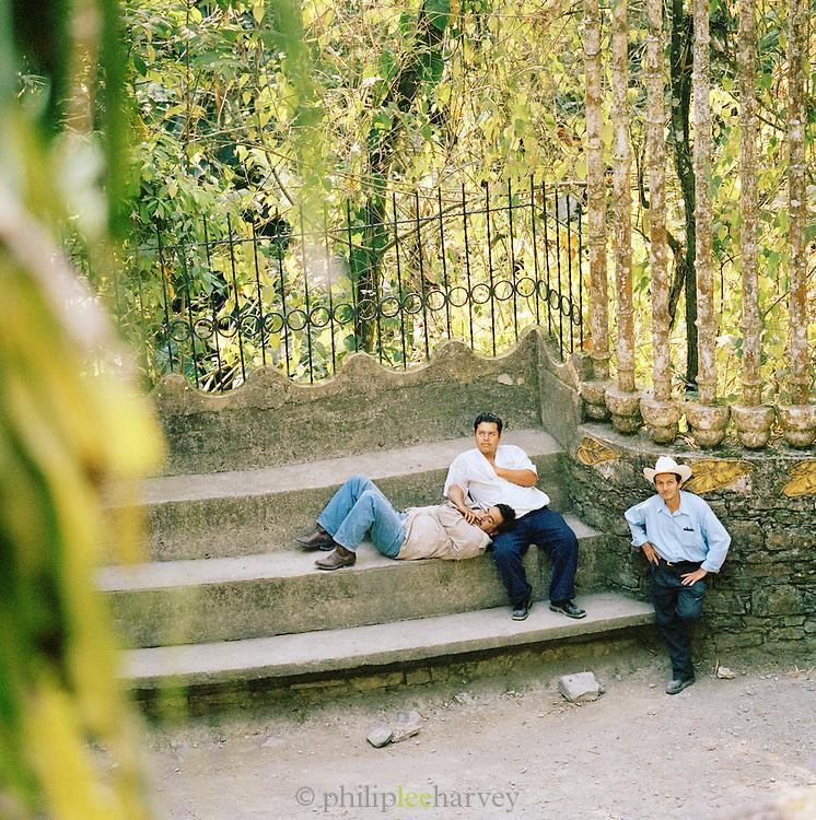 The Edward James Surrealist Gardens at Las Pozas, Xilitla, Mexico