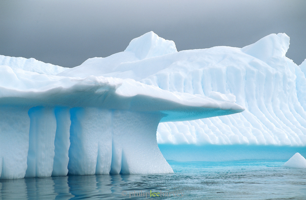 Icebergs at the Antarctic Peninsula, Antarctica