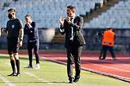 Julio Santiago satisfied with team's performance during the Liga NOS match between Belenenses SAD and Maritimo at Estadio do Jamor, Lisbon, Portugal on 17 April 2021.