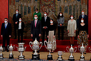 030221 Spanish Royals Deliver the National Sports Awards 2018