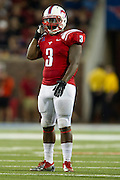 DALLAS, TX - AUGUST 30: Kevin Pope #3 of the SMU Mustangs looks on against the Texas Tech Red Raiders on August 30, 2013 at Gerald J. Ford Stadium in Dallas, Texas.  (Photo by Cooper Neill/Getty Images) *** Local Caption *** Kevin Pope