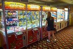 Amusement arcade, Aberystwyth Wales May 2016