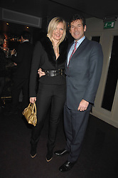Fashion designer AMANDA WAKELEY and HUGH MORRISON at a party hosted by Kitts nightclub in honour of Ed Godrich to than him for his work on designing the club in Sloane Square, London on 1st March 2007.<br /><br />NON EXCLUSIVE - WORLD RIGHTS