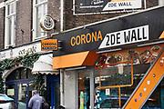 Nederland, Nijmegen, 18-3-2020  In Nijmegen bestaat al jarenlang de broodjeszaak Broodje Corona . Een begrip in het nachtelijk uitgaansleven . Foto: Flip Franssen