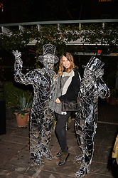 Amber Le Bon at The Ivy Chelsea Garden's Guy Fawkes Party, 197 King's Road, London, England. 05 November 2017.