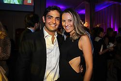 Carolina Ceolin e Fernando Tornaim na festa de inauguração do Viva Open Mall. FOTO: Dani Barcellos/ Agência Preview