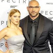 NLD/Amsterdam/20151028 - Premiere James Bondfilm Spectre, Lea Seydoux en Dave Batista
