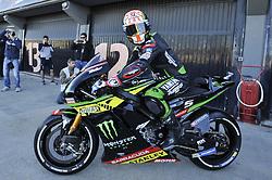 November 14, 2017 - Cheste, Spain - Johann Zarco  (Monster Yamaha Tech 3) during Motogp test day at Valencia circuit  (Credit Image: © Gaetano Piazzolla/Pacific Press via ZUMA Wire)