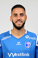 Dylan Bronn during Photoshooting of Niort for new season 2017/2018 on September 12, 2017 in Niort, France. <br /> Photo : CNFC / Icon Sport