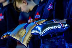 12-01-2019 NED: ISU European Short Track Championships 2019 day 2, Dordrecht<br /> Gold medal, item