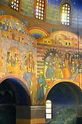 Nederland, Heiliglandstichting, 7-7-2017De Cenakelkerk in Heilig Landstichting bij Nijmegen is met tien andere kerken en twee synagogen op initiatief van het museum Catharijneconvent onderdeel geworden van het grootste museum Van Nederland. De Cenakelkerk staat naast het museumpark, openluchtmuseum orientalis, en heeft een karakteristieke bijna Arabische bouwstijl met koepel. Foto: Flip Franssen