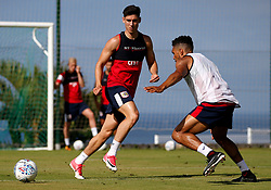 Callum O'Dowda of Bristol City takes on Scott Golbourne of Bristol City - Mandatory by-line: Matt McNulty/JMP - 20/07/2017 - FOOTBALL - Tenerife Top Training Centre - Costa Adeje, Tenerife - Pre-Season Training