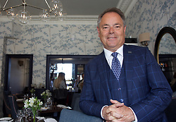 Filip Boyen, CEO of Small Luxury Hotels of the World, in the exclusive Nira Caledonia hotel in Edinburgh at its reopening today after a £1.4m investment to repair damage caused by fire. Pic copyright of Terry Murden @edinburghelitemedia