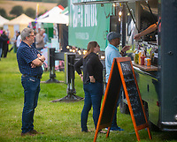 OMG StreetFood at the Pub in the Park's drive in Garden Party Henley photo by Brian Jordan