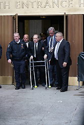Harvey Weinstein is seen leaving court. . 06 Jan 2020 Pictured: Harvey Weinstein . Photo credit: Joe Russo / MEGA TheMegaAgency.com +1 888 505 6342