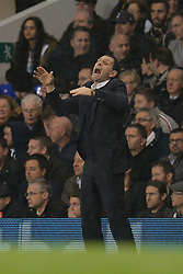 Sunderland's manager Gus Poyet reacts  - Photo mandatory by-line: Mitchell Gunn/JMP - Tel: Mobile: 07966 386802 07/04/2014 - SPORT - FOOTBALL - White Hart Lane - London - Tottenham Hotspur v Sunderland - Premier League