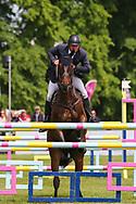 Thornton Jones ridden by Matthew Heath in the Equi-Trek CCI-4* Show Jumping during the Bramham International Horse Trials 2019 at Bramham Park, Bramham, United Kingdom on 9 June 2019.