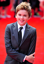 © Licensed to London News Pictures. 24/07/2011. London, England.Theo Stevenson attends the World premiere of Horrid Henry at the BFI on Londons Southbank. Photo credit : ALAN ROXBOROUGH/LNP