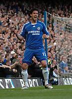 Photo: Tony Oudot.<br />Chelsea v Sheffield United. The Barclays Premiership. 17/03/2007.<br />Michael Ballack celebrates his goal for Chelsea