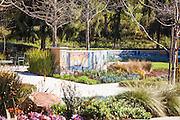 Mosaic Tile Wall At Oso Creek Trail Mission Viejo