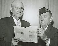 1962 C.E. Toberman & Paul Denny