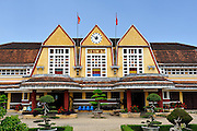 Da Lat Railway Station is the oldest railway station in Vietnam. Da Lat, Vietnam