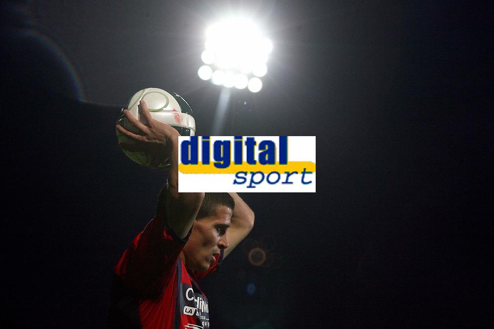 FOOTBALL - FRENCH CHAMPIONSHIP 2011/2012 - CLERMONT FOOT v CS SEDAN  - 4/05/2015 - PHOTO EDDY LEMAISTRE / DPPI - NICOLAS BAYOD (CFA)