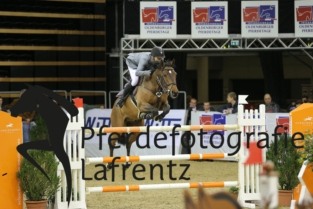 Schou, Andreas Quimono de la Roque<br /> Oldenburg - Oldenburger Pferdetage 2013<br /> Internationales Springen<br /> © www.sportfotos-lafrentz.de / Stefan Lafrentz