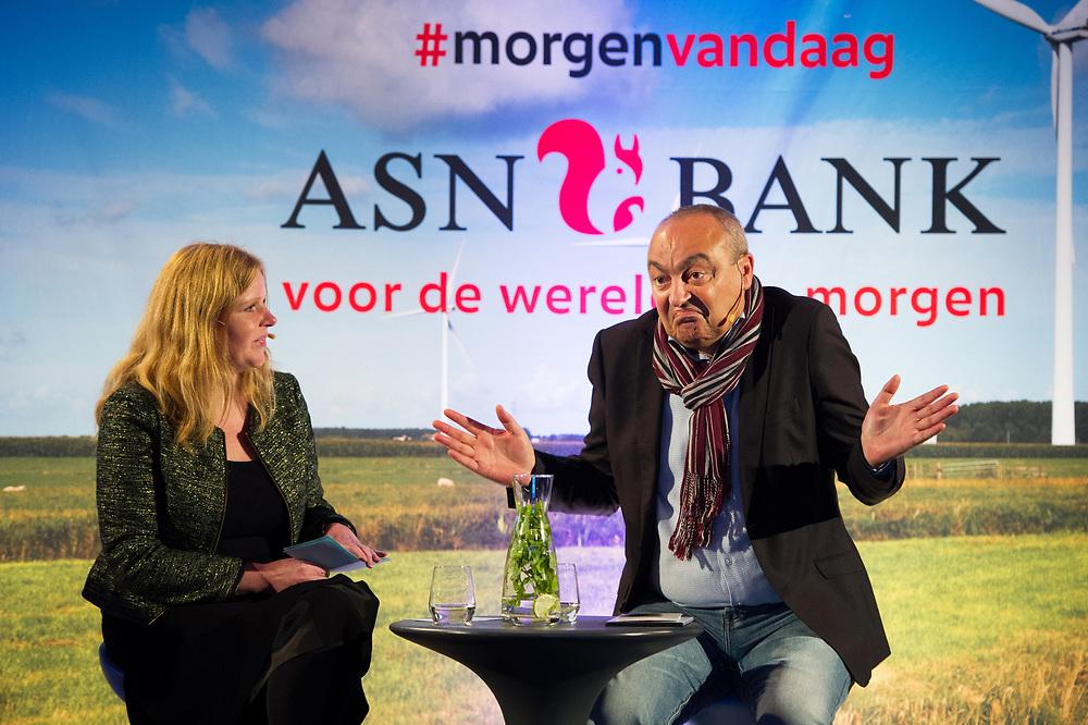 Foto: Gerrit de Heus. Amsterdam. 24-10-2015. Westergasfabriek. ASN Bank. MorgenVandaag.