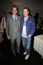 Left to right, BEN ELLIOT and TOM PARKER BOWLES at a party to launch Esquire magazine's June issue hosted by new editor Alex Bilmes at Sketch, Conduit Street, London on 5th May 2011.