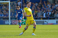 Bristol Rovers midfielder Ollie Clarke (8) celebrating after scoring goal to make it 1-1 during the EFL Sky Bet League 1 match between AFC Wimbledon and Bristol Rovers at the Cherry Red Records Stadium, Kingston, England on 19 April 2019.