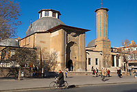 Turquie. Anatolie Centrale. Ville de Konya.  Medersa Ince Minare. Ecole coranique. // Turkey. Central Anatolia. City of Konya. Ince Minare Medersa. Koranic school.